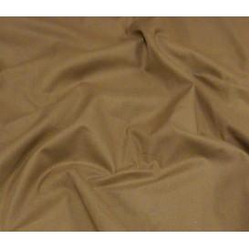 tissu cotoval uni chocolat largeur 250cm x 50cm