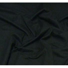 tissu cotoval uni noir largeur 250cm x 50cm