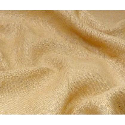 tissu toile de jute naturel largeur 130cm x 50cm