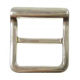 boucle raccord métal pour sac, ceinture 15mm