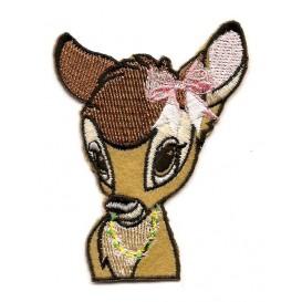 écusson disney tête de bambi thermocollant