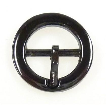 boucle de chaussure métal ronde 21mm