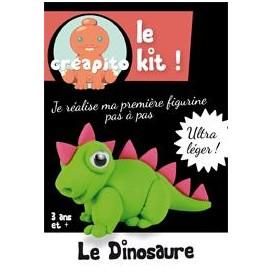 kit pâte à modeler durcissant à l'air dinosaure