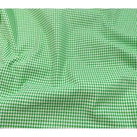 tissu vichy 2mm vert largeur 140cm x 50cm
