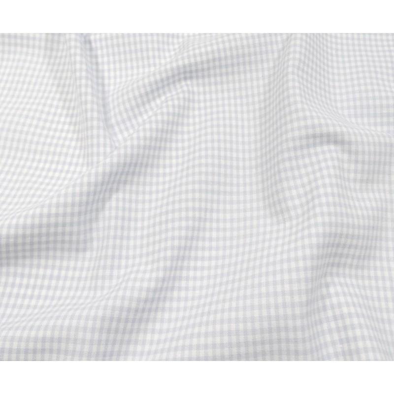 tissu vichy 2mm bleu ciel largeur 140cm x 50cm. Black Bedroom Furniture Sets. Home Design Ideas
