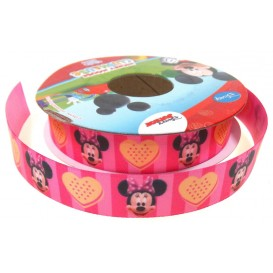 ruban satin disney minnie 15mm x 50cm