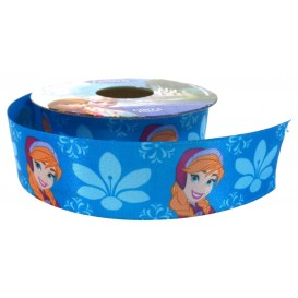 coupon 3m ruban satin disney anna 25mm