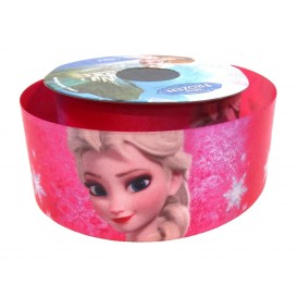 coupon 3m ruban satin disney elsa 38mm
