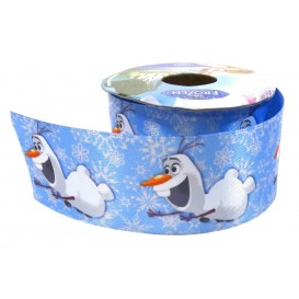 coupon 3m ruban satin disney olaf 38mm
