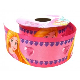 coupon 3m ruban satin disney raiponce 38mm