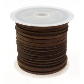bobine de 4 mètres de lacet daim