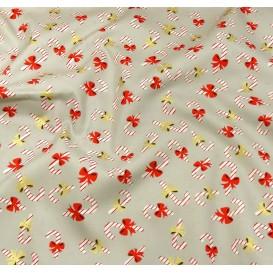 tissu noël gris sucre d'orge largeur 150cm x 50cm