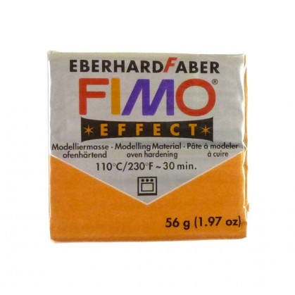 PATE FIMO EFFET OR