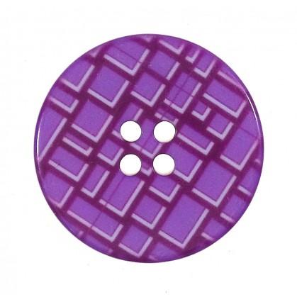 bouton déco métal ajouré 50mm