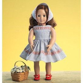 patron vêtement rétro de poupée 46cm McCall's M7266