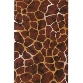 FEUILLE DECOPATCH GIRAFE