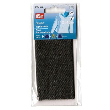pièce thermocollante jeans denim 12x45cm (3 coloris)