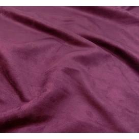 tissu suédine violet largeur 150cm x 50cm