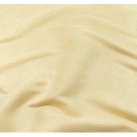 tissu suédine écru largeur 150cm x 50cm