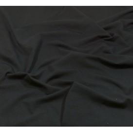 tissu jersey noir largeur 160cm x 50cm