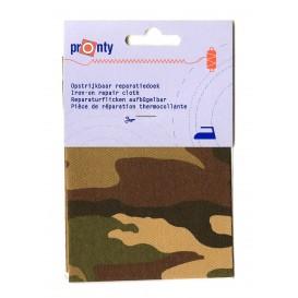pièce thermocollante camouflage 10 x 40cm n°2