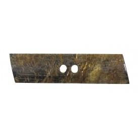 bouton buchette corne plate 70mm