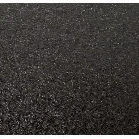 tissu simili cuir bubbles noir largeur 138cm x 50cm