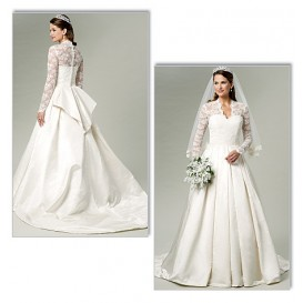 patron robe de mariée Butterick B5731