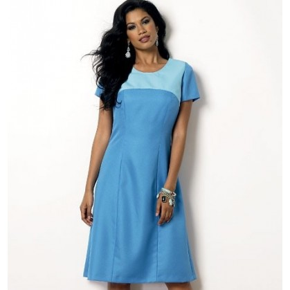 patron robe ajustée Butterick B6033