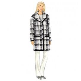 patron manteau très ample Butterick B6107