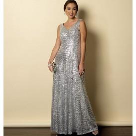 patron robe doublée Butterick B6146