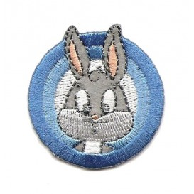 écusson baby bugs bunny thermocollant