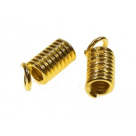 2 embouts spirale or 7mm