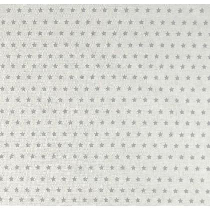 tissu aspect lin toile grise 6mm largeur 150cm x 50cm. Black Bedroom Furniture Sets. Home Design Ideas