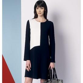 patron haut, robe et pantalon Vogue V9175