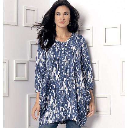 patron tunique ample Vogue V9171