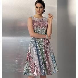 patron robe doublée Vogue V9149