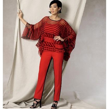 patron tunique et pantalon Vogue V1491