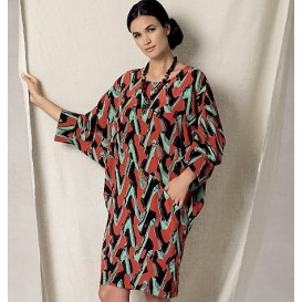 patron robe très ample Vogue V1482