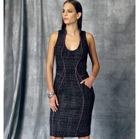 patron robe doublée Vogue V1469