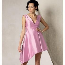 patron robe doublée Vogue V1490