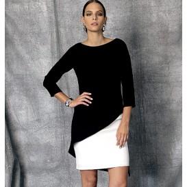 patron robe doublée Vogue V1470