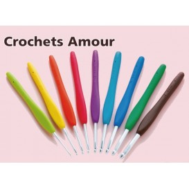 crochet amour Clover (23 tailles)