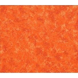 tissu patchwork makower orange clair largeur 110cm x 25cm