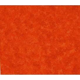 tissu patchwork makower orange foncé largeur 110cm x 25cm