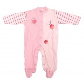 coffret fille vêtement coccinelle rose 0mois