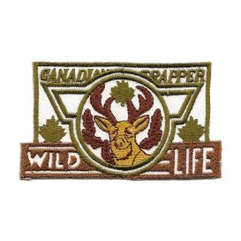 écusson wild life thermocollant