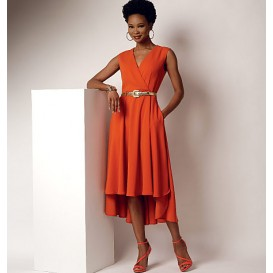 patron robe à corsage Butterick B6204