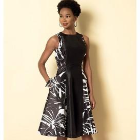 patron robe à corsage Butterick B6316