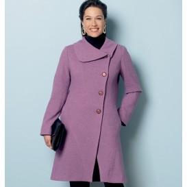patron manteau doublé Butterick B6292
